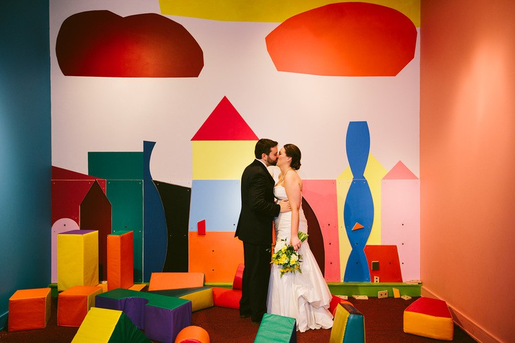 Elopement at the Asheville Art Museum