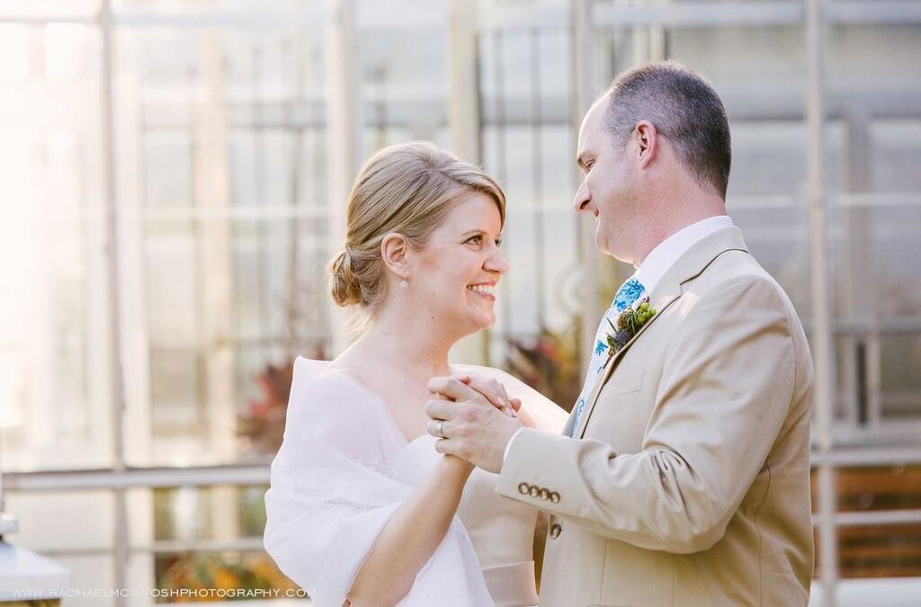 Spring Arboretum Wedding